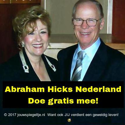 Abraham Hicks Nederland, op de foto zie je Esther en Jerry Hicks