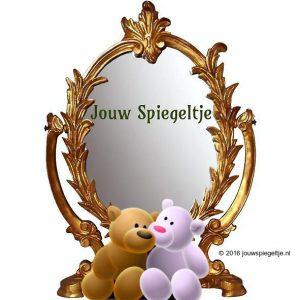 Jouw Spiegetje: twee beren voor een antieke spiegel