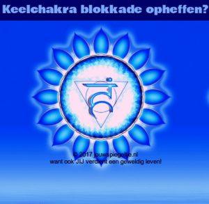 Keelchakra blokkade opheffen? Lees hoe! Afbeelding van de keelchakra mandala in de kleur blauw