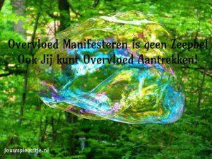 Ook jij kunt een bewuste schepper van jouw werkelijkheid zijn: het is zeker geen zeepbel